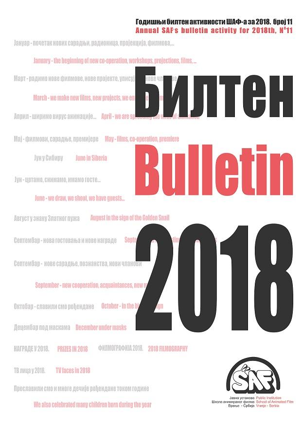 Godisnji bilten 2018 - 01